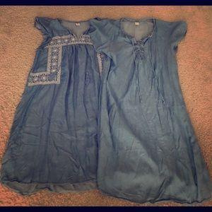 Dresses & Skirts - Old Navy Denim Dresses